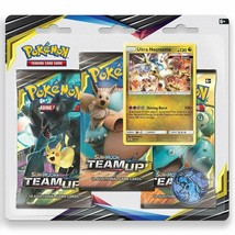 Pokemon TCG Sun & Moon Team Up 3 Booster Blister Pack - Ultra Necrozma P... - $15.20