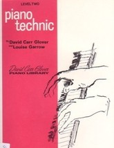 David Carr Glover Piano Library Piano Technic Level 2 - $5.95