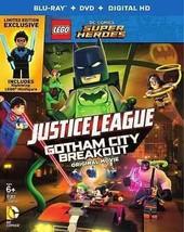 LEGO DC Comics Super Heroes: Justice League - Gotham City Breakout Blu-ray