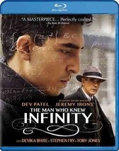 The Man Who Knew Infinity Blu-ray