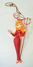 "Vintage Hallmark Devil Halloween Ornament ""One Devilicious Diva"" - $9.89"