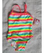 OP 1 Piece Swimsuit Little Girls size 12M UPF 5... - $14.80