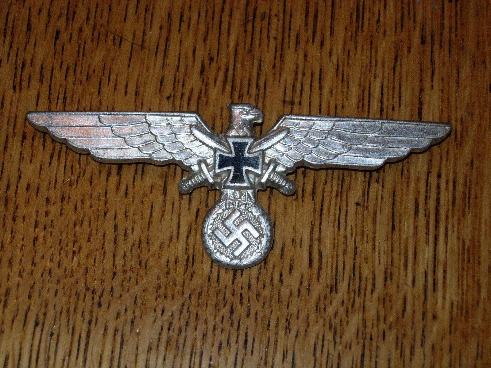 Vintage WWII German Reichskriegerbund Breast and 50 similar items