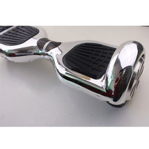 Rare 2017 Chrome Silver Hoverboard Two Wheel Scooter w/ fast shipping - $249.00
