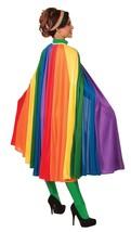 "F74250 (56"") Adult Long Rainbow Fantasy Cape - $29.88"
