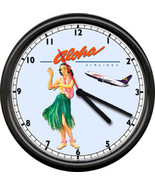 Aloha Airlines Hawaii Tickets Hawaiian Airplane... - $21.78