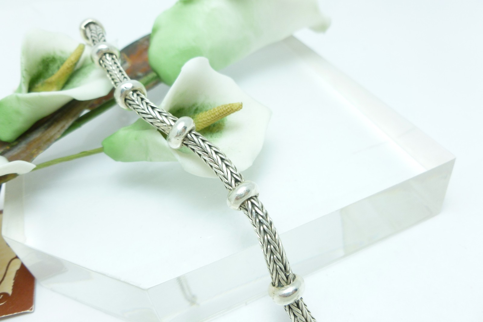 "Artisan Crafted Sterling Silver 7.5"" Tulang Naga Bracelet"