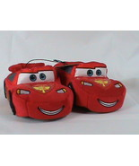 Disney Cars 3D Embroidered Lightning Mcqueen Slippers House Shoes Size 5/6 - $8.90