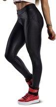 BadAssLeggings Women's Active Sport Leggings Medium Black - $8.90