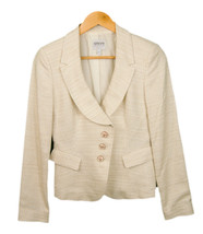 Armani Collezioni Viscose Cotton Blend 4 Button Jacket Blazer size 4 - $29.65