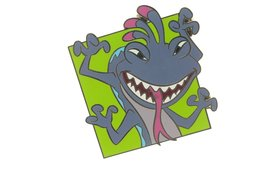 Disney Villains in Frames Series - Randall Pin - $12.95