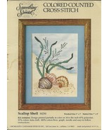 Scallop Shell Colored Counted Cross Stitch Kit 50250 Something Special 5... - $3.93
