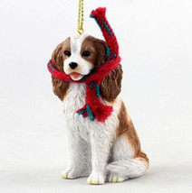 "LARGE 3"" CAVALIER KING CHARLES SPANIEL DOG CHRISTMAS ORNAMENT HOLIDAY Fi... - $14.99"