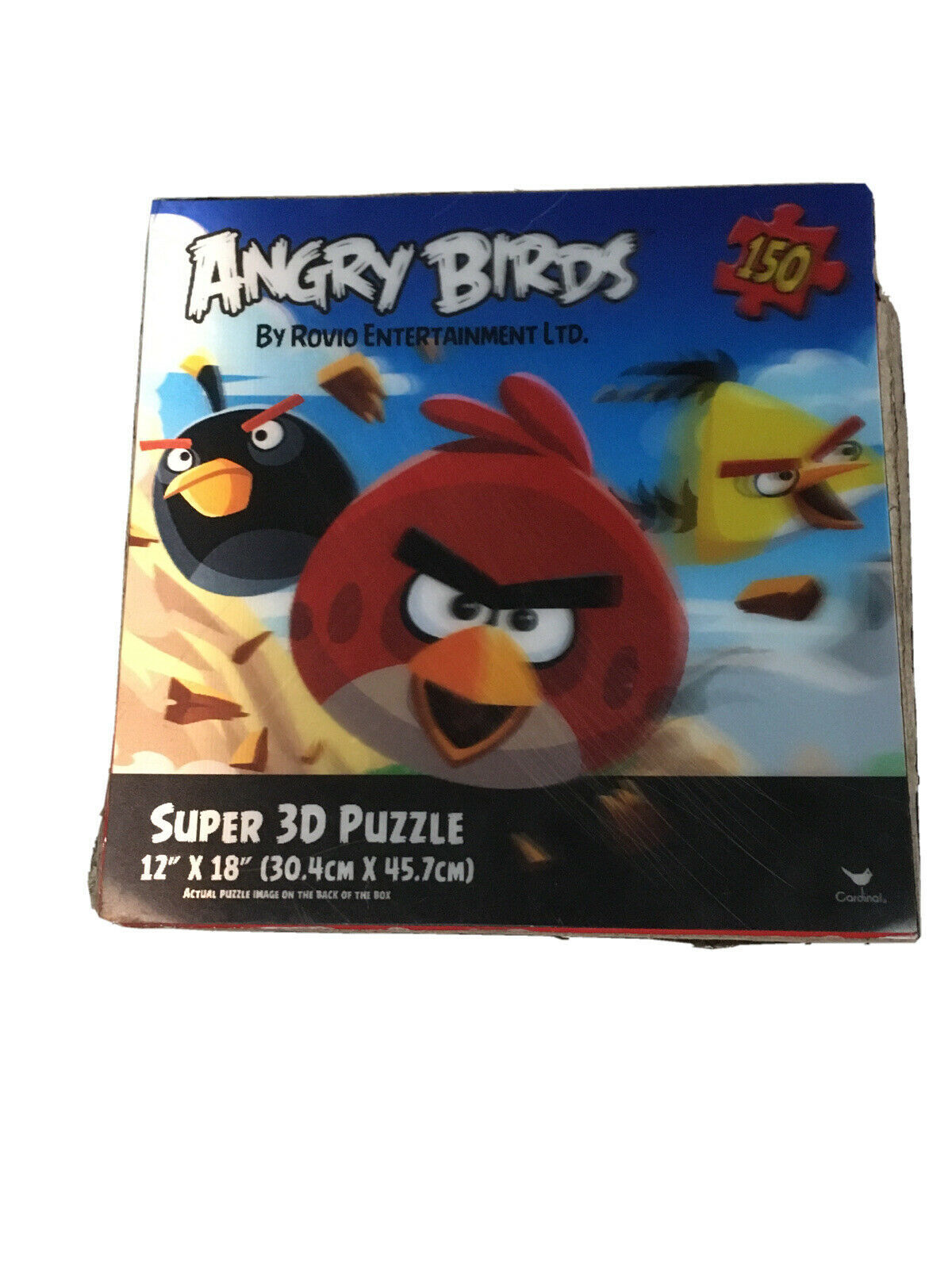 Primary image for 3D Angry Birds jigsaw puzzle 150 pc #90457