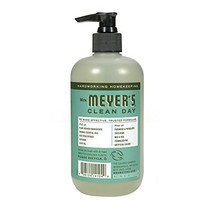 Blenders (Countertop) Mrs Meyers Hand Soap Basil 125 Fluid Ounce Pack of 3 - $25.27