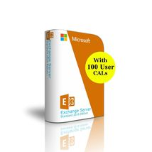 Exchange Server 2016 - 100 User CAL License - S... - $1,948.60