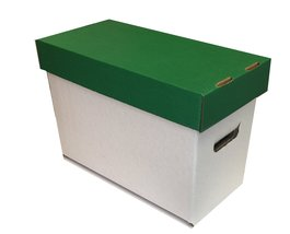 Max Protection Short Box - Green Lid - White Base - $15.99