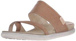 Ecco Footwear Womens Damara Sandal Flip Flop, Camel, 42 EU/11-11.5 M US - $57.00