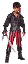 California Costumes Boy's BRINY BUCCANEER PIRATE Halloween Costume LARGE... - $17.94