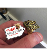 Lion's Head Cool Vintage Ring  Fashion Jewelry - $14.00