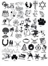 ROYAL FLUSH CARDS LOGO 50 Personalized printed DINNER HAND TOWEL FOLD napkins image 2