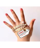 Fashion Designer Hand Palm Cuff Charm Bangle for Women Accessories - $16.00