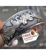 Phoenix Peony Bracelets Totem Tibetan Cuff Bangles For Women - $14.00