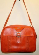 Vintage Samsonite Suitcase Carry-on Overnight Bag Orange - $32.77