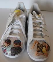 New Adidas Superstar Pharrell Williams Supershell Cass Bird Men 11 Leather Shoes - $65.43
