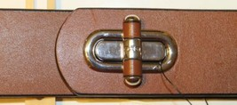 NWT Ralph Lauren Elastic Belt with Brown Leather  Accent Metal Silver Cl... - €19,26 EUR