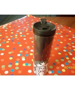 Starbucks Black Tumbler With Lid Mermaid Logo New - $24.50