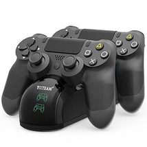 PS4 Controller Charger Dual Shock USB Charging Docking Station Stand For... - $19.34