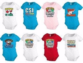 Funny Baby shirt Bodysuit Infant toddler Mommy Daddy taken Shower party ... - $13.99