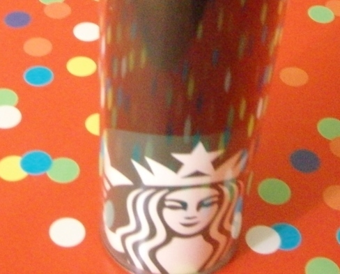 Starbucks Black Tumbler With Lid Mermaid Logo New