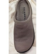 MERRELL Primo Breeze II Tan Taupe Mesh Clogs Shoes Women's Size 8.5 - $34.60
