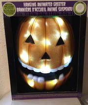 Halloween JACK O LANTERN Animated Greeter - Motion & Sound Activated - S... - $34.94