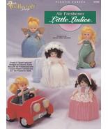 Air Freshener Little Ladies, Plastic Canvas Pattern Booklet TNS 943395 HTF - $7.95