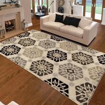 "5x8 (5'3"" x 7'6"") Modern Contemporary Geometric Area Rug - $99.00"