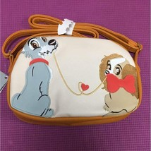 Disney store Japan Lady and the Tramp Pochette shoulder bag pouch handba... - $78.21