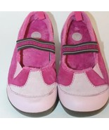 Crocs Kid Girl Winter Shoes Pink Ballet Lined Pink Sz 3 Leather Junior E... - $16.68