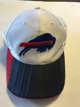 NFL Buffalo Bills White Cap Velcro Back Adjustable Hat Reebok - €6,75 EUR