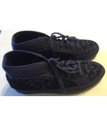 New Puma MCQ Men Shoes Alexander McQueen Rabble Violet 11 Leather Canvas... - $93.11