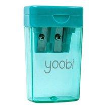 Yoobi Two Hole Pencil Sharpener - Aqua - $6.16