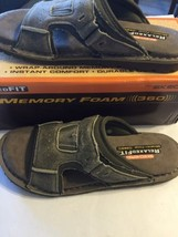 NWT Skechers Memory Foam 360 Men Leather Fit Sa... - $46.74