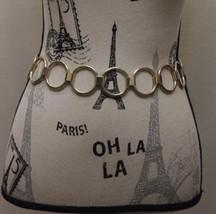 Gold Metal Ring Women Belt S/M Boho Chic Style - €25,99 EUR