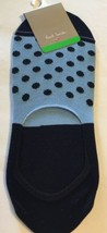 New Paul Smith Mens Footies Socks Polka Dots Cotton Made In Italy Blue O... - $23.36
