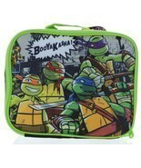 "Teenage Mutant Ninja Turtles Lunch Box 3D-FX ""BOOYAKASHA!"" Lunch Box + B... - £17.97 GBP"