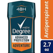 Degree MotionSense Antiperspirant Deodorant, Adventure 2.7 oz Pack of 4 - $17.69