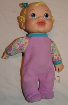 "Baby Alive 2009 Hasbro Doll Bouncing Baby Laughing Talking Toy 12"" Giggl... - $19.16"