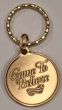 Came To Believe Bronze AA Alcoholics Anonymous Keychain Key Tag - $6.99